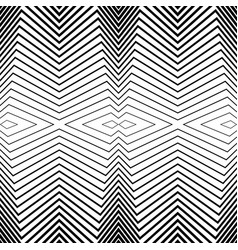 seamless black and white pattern stripes vector image