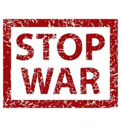 Stop War Banner vector image