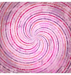 Pink swirls background vector image vector image