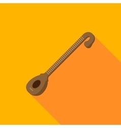 instrument veena flat vector image