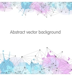 Abstract connection background Background for vector