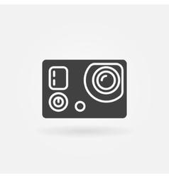 Action camera icon or logo vector