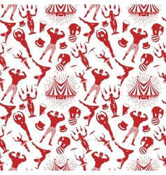 Circus Pattern vector image