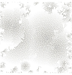 Gray Labyrinth Background Kids Maze vector image