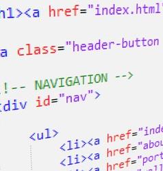 Html code vector