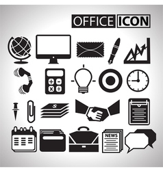 Office icon for bussiness vector image