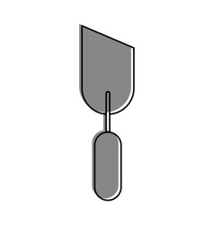 spatula tool isolated icon vector image