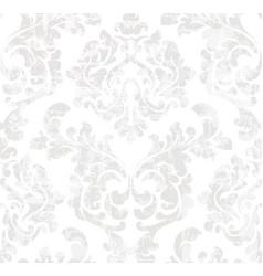 vintage baroque pattern victorian ornament vector image