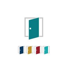window construction icon logo vector image