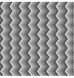wavy zigzag vertical lines seamless pattern vector image vector image