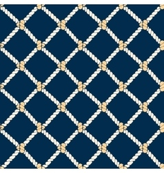Nautical Rope Background Pattern vector image