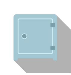 flat icon of safe vector image vector image