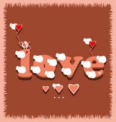 Love1 vector image vector image