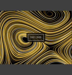 Abstract artistic curl background vector
