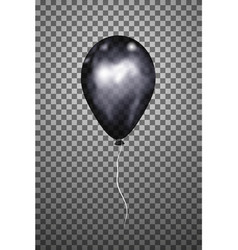 Black air balloon eps10 vector
