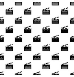 clapper pattern seamless vector image