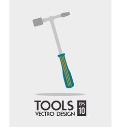Construction repair tools graphic vector image