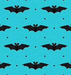 Halloween seamless textured polka dots pattern vector