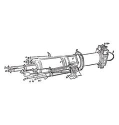 Heliometer vintage vector