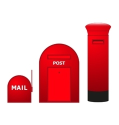 Mailboxes vector