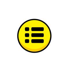 Menu video game asset menu icon button layer art vector