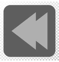 Move Left Rounded Square Button vector