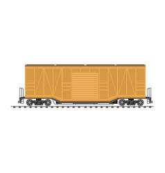 Big industrial carriage vector