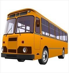 passenger bus01 vector image vector image
