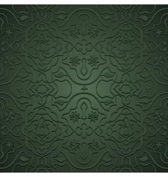 Seamless arabic pattern vector image vector image