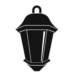 Street light icon simple style vector
