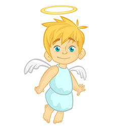151angel vector image