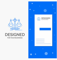 Business logo for balance decision justice law vector