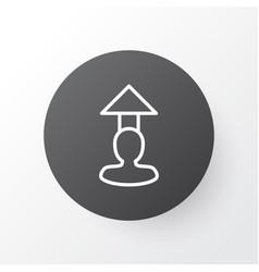 Career prospects icon symbol premium quality vector