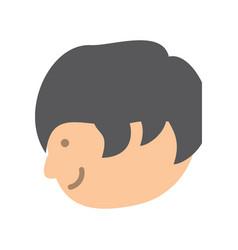 cartoon man icon image vector image