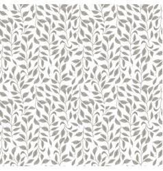 floral seamless pattern - detailed light vector image