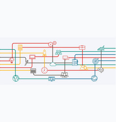 Network connections vector
