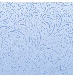 Seamless frost backgraund vector image