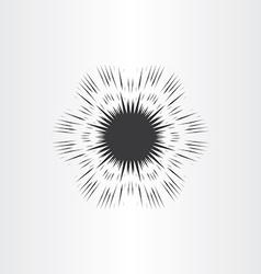 supernova star explosion icon vector image