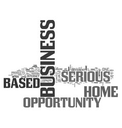 a closer look at different home based business vector image vector image