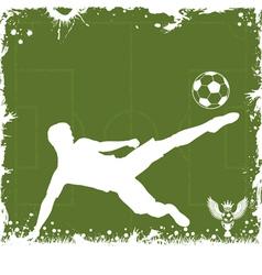 Soccer Frame vector image vector image
