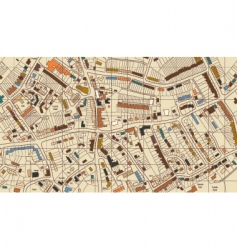 housing map vector image vector image