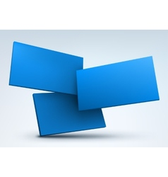 Abstract 3d with place for vector image