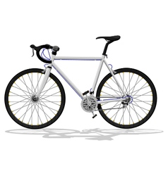 Basic road bike vector