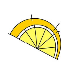 Icon lemon vector