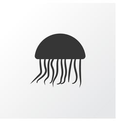 jellyfish icon symbol premium quality isolated vector image