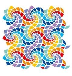 Mosaic template vector