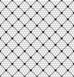 net lace with dot vector image