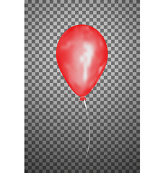 red air balloon eps10 vector image