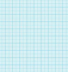 Seamless graph millimeter paper vector image