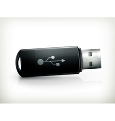 USB flash drive vector